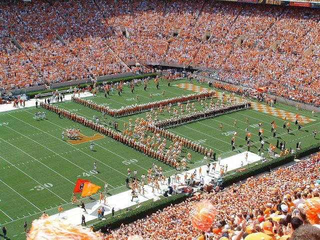 Proud of the Southland Band and Power T on game day