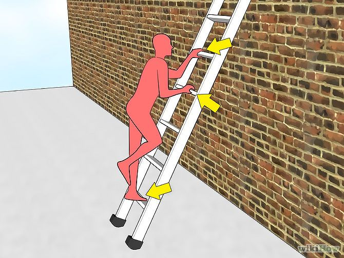 Proper Ladder Safety Requires You To Maintain Three Points