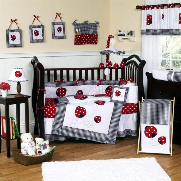 If We Have A Girl Her Room Will Be Red And White Maybe Polka