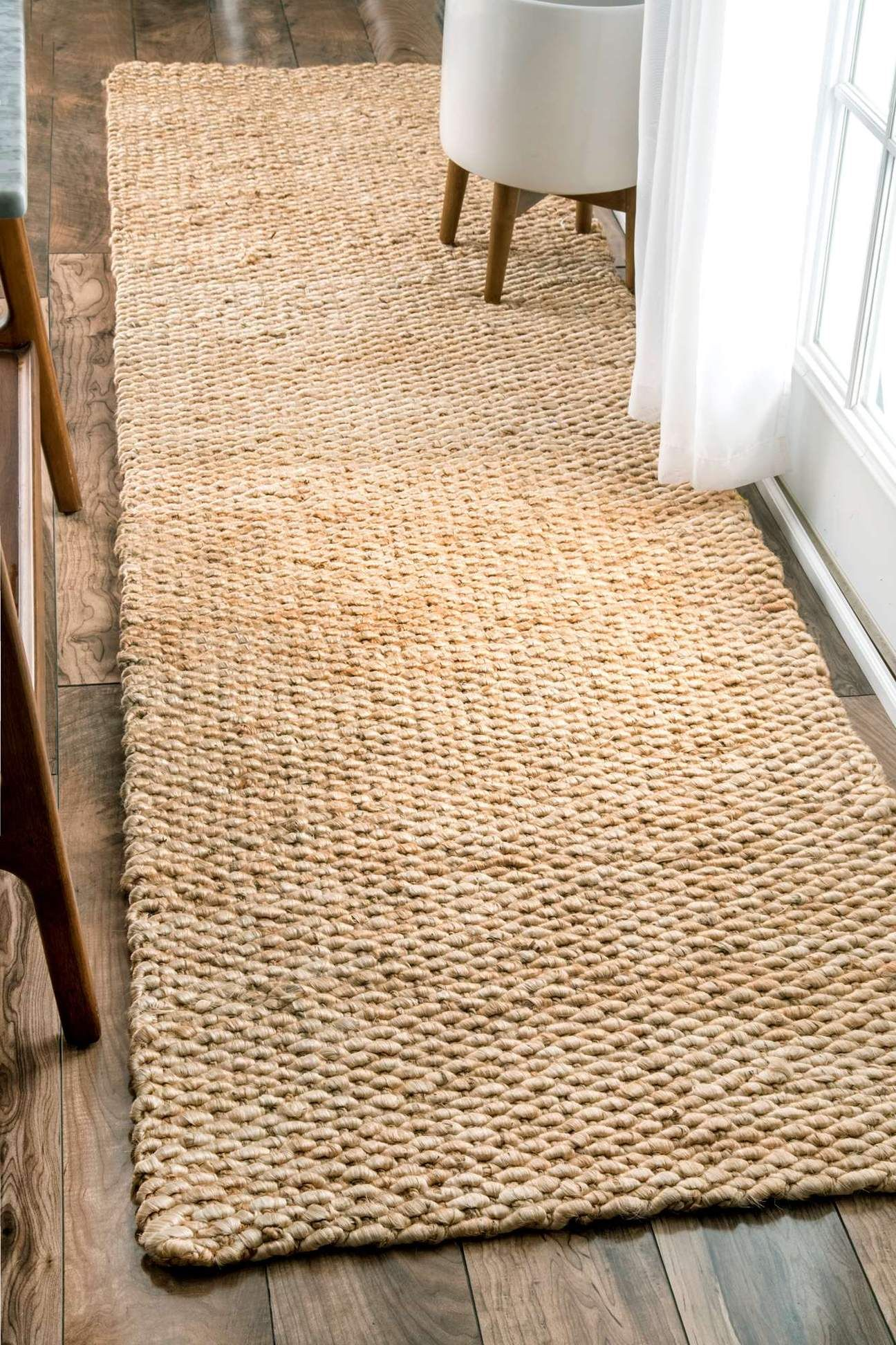 Nuloom Hand Woven Hailey Jute On01a Area Rug Home In