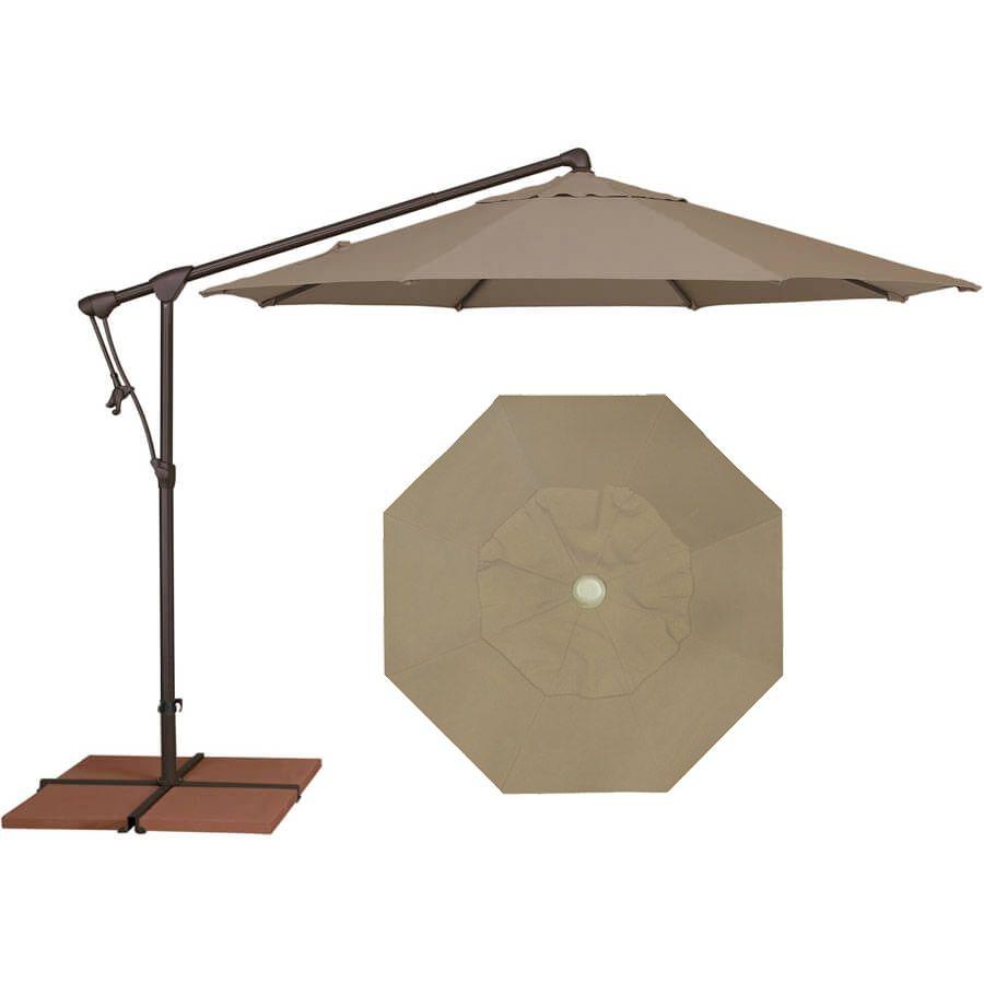 Treasure Garden Ag19 10 Octagonal Cantilever Cantilever Umbrella Replacement Canopy Canopy
