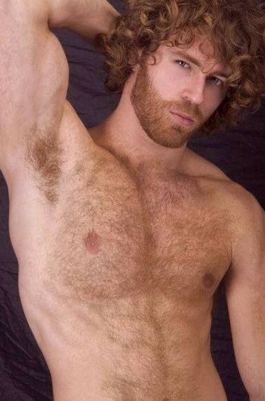 Gay ginger hairy