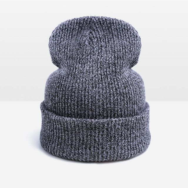 3728a6a5825f8 Fashion Thick Warm Winter Hat For Man Beanies Unisex Skullies Beanies For Men  Women Hat Cap · Knitted HatKnit HatsWinter ...