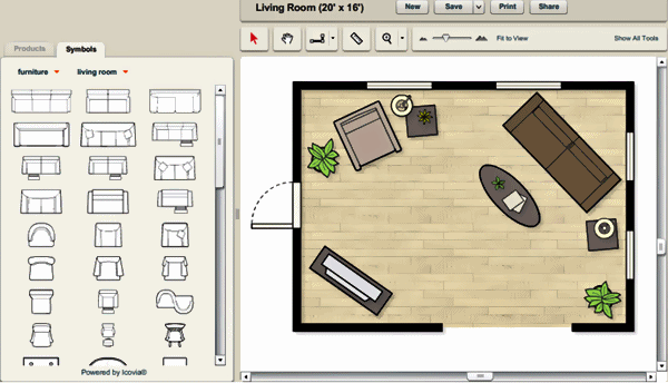 Design Room Layout Plans Online With Icovia Space Planner Layout Minecraft Home Decor