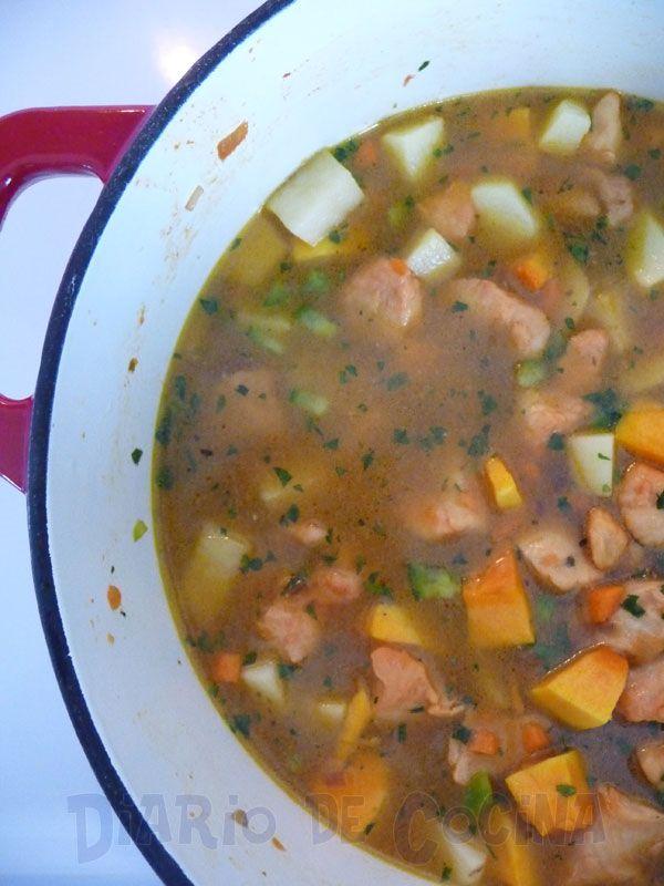 Mi Diario de Cocina | Carbonada de pollo | http://www ...