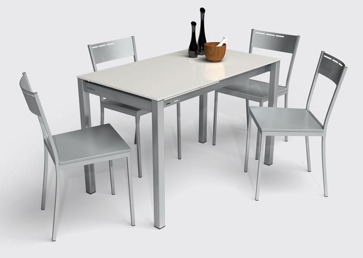 mesas y #sillas modernas para #cocinas #diseño de cocinas. #linea 3 ...