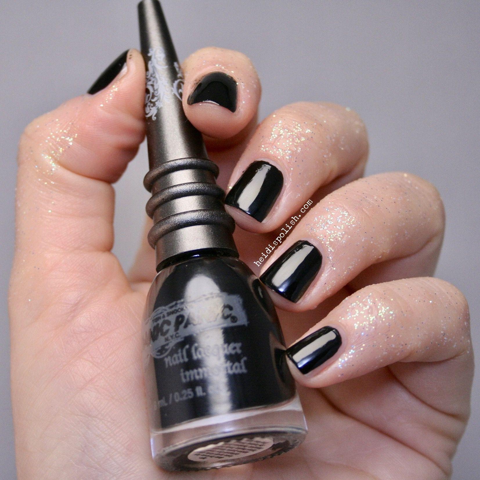 Manic Panic NY nail polish in Black by www.heidispolish.com ...