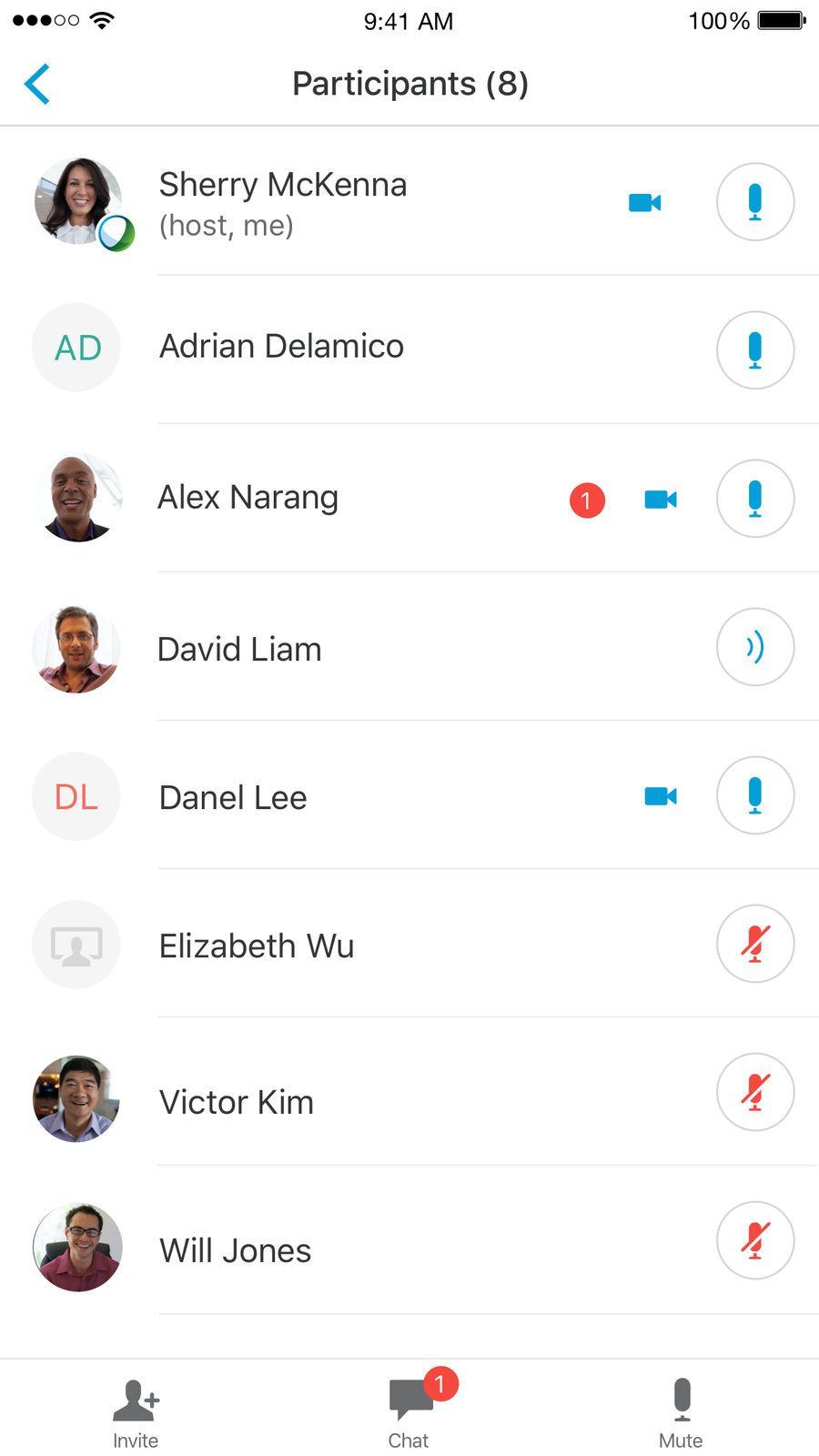 Cisco WebEx Meetings iosProductivityappapps