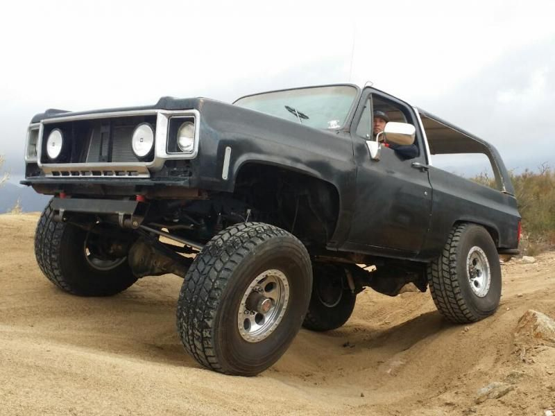 1978 K5 Blazer Gmc Jimmy Rock Crawler 7500 South Bay
