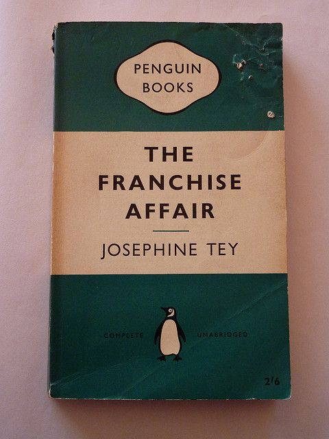 Josephine Tey The Franchise Affair 1948 Books Books Novels
