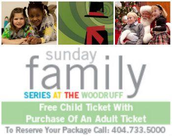 Woodruff Arts Center Holiday Christmas Family Series