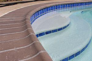 swimming pool tile & coping | coronado's pool plaster, inc. | pool