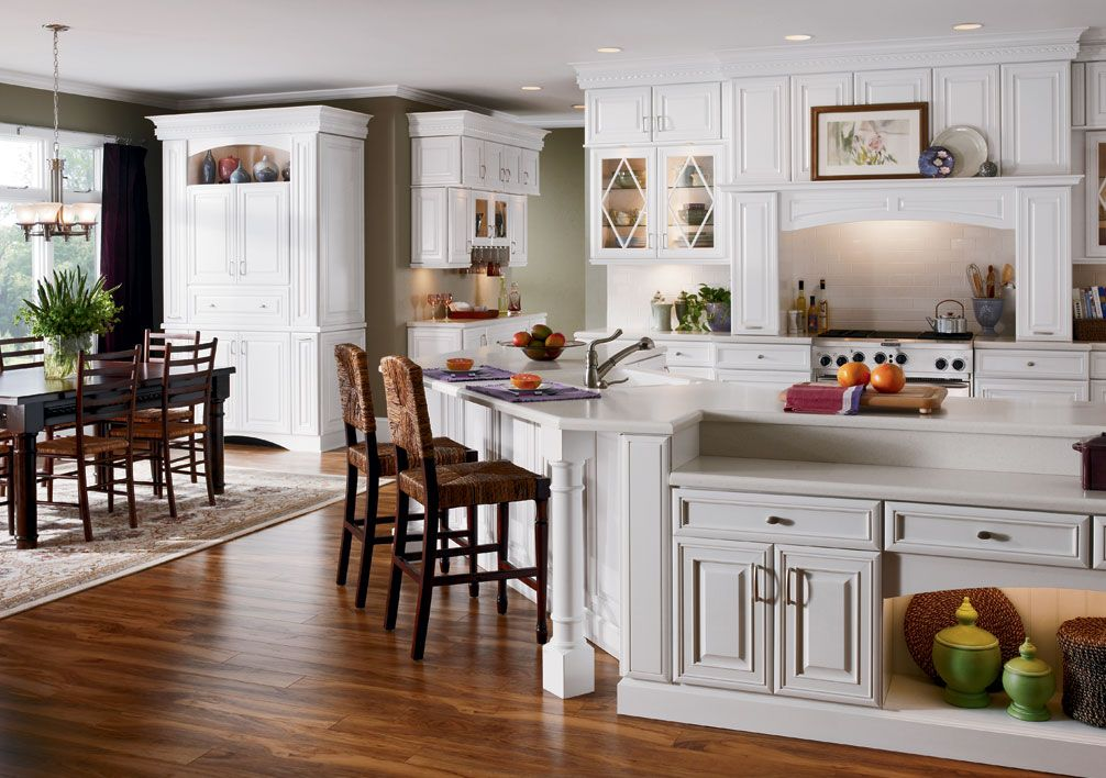 Kitchen Styles With White Cabinets kitchen remodeling ideas pictures | remodeling-a-kitchen-in-the