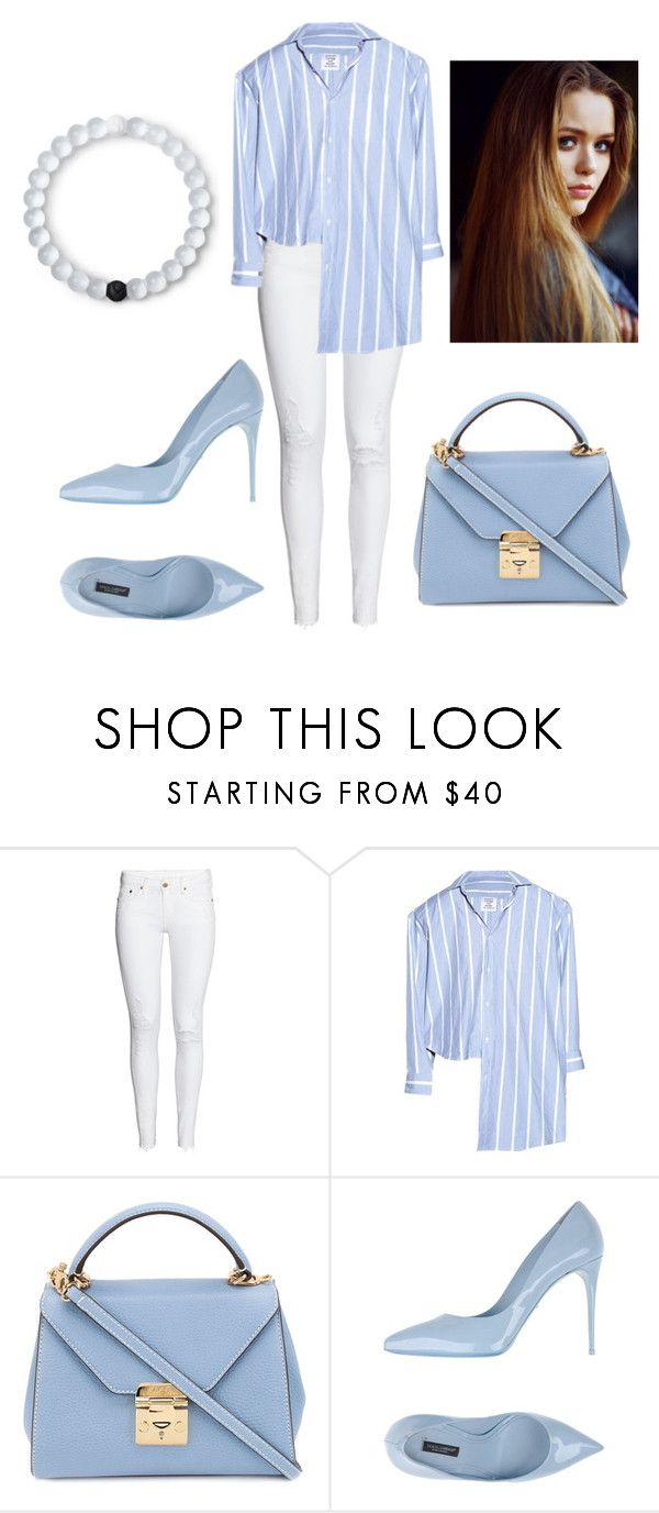 """Good morning"" by diamantina288 ❤ liked on Polyvore featuring H&M, Vetements, Mark Cross, Dolce&Gabbana, Lokai and Toni&Guy"
