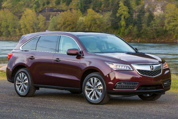 2016 Acura Mdx Acura Mdx Acura Acura Luxury