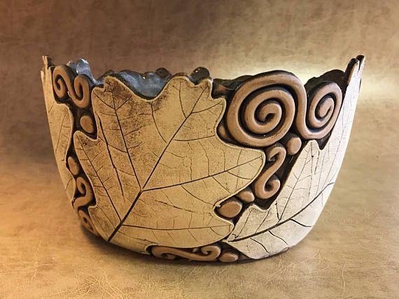 Large Oak Leaf Bowl 11