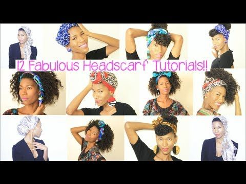 12 Fabulous Head Scarf Tutorials Kashtv Clothes To Try Out