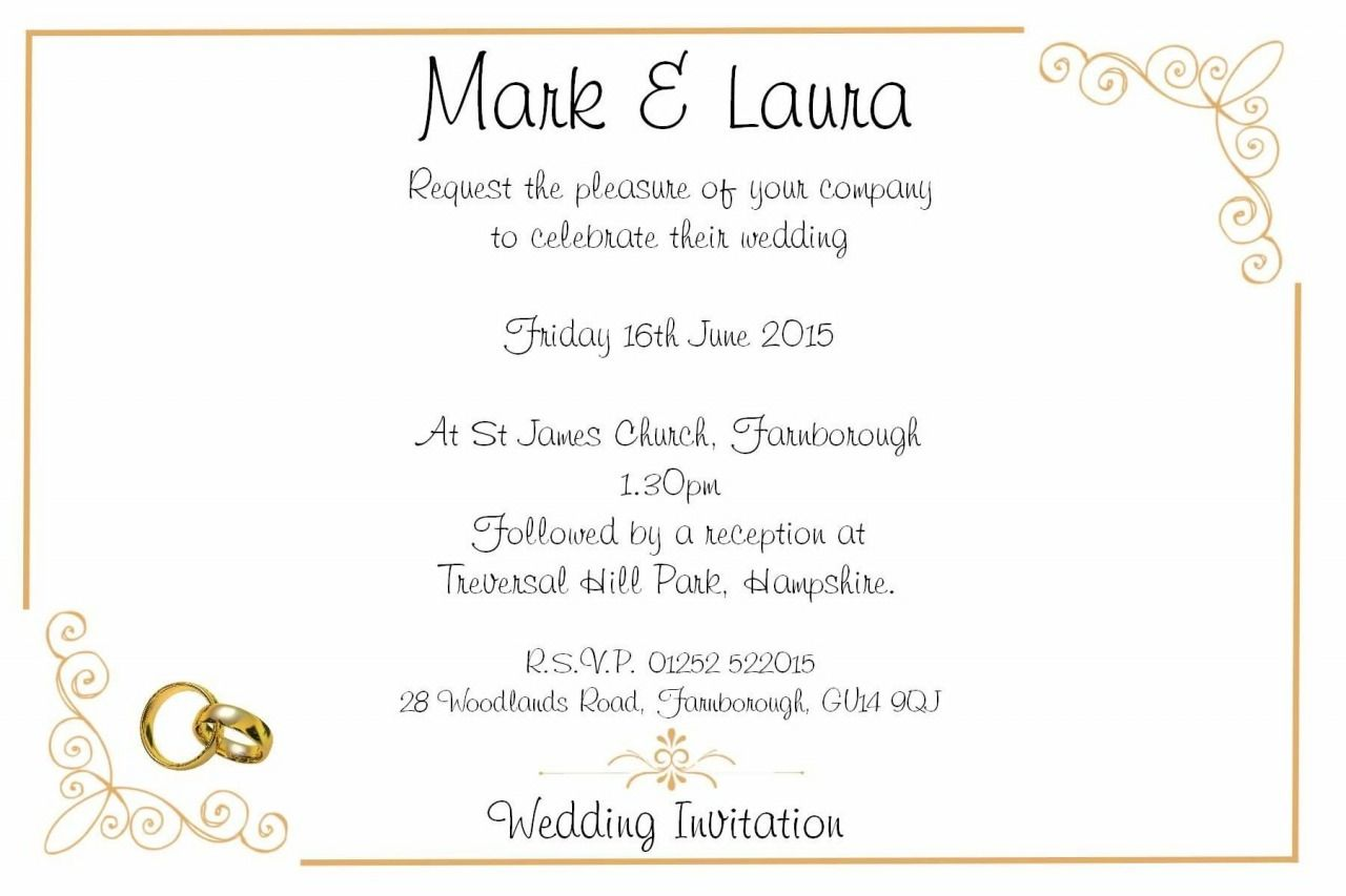 20 Unique Wedding Invitation Wording For Church And Reception 2019 Check More A Wedding Invitation Quotes Wedding Reception Invitations Invitation Card Party