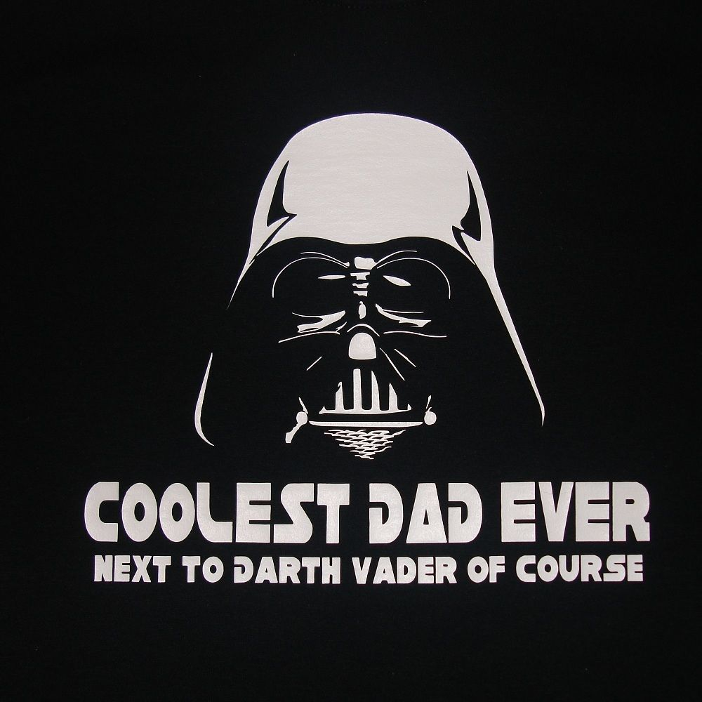 38e6ab86 Darth Vader Coolest Dad Ever Men T Shirt Funny Fathers Day Gift Star Wars  Father
