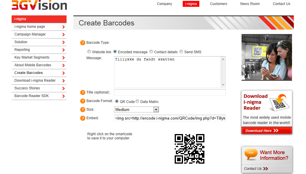 Create your own barcodes