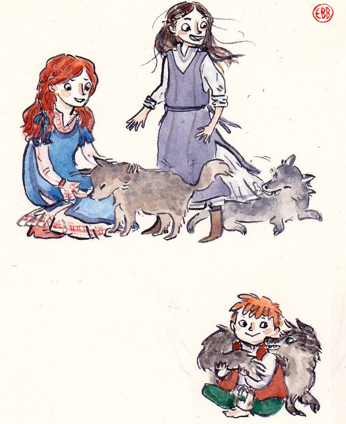 More little Starks by BeastlyWorlds