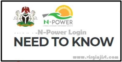 Npower Online Account Login N Power List Of Successful