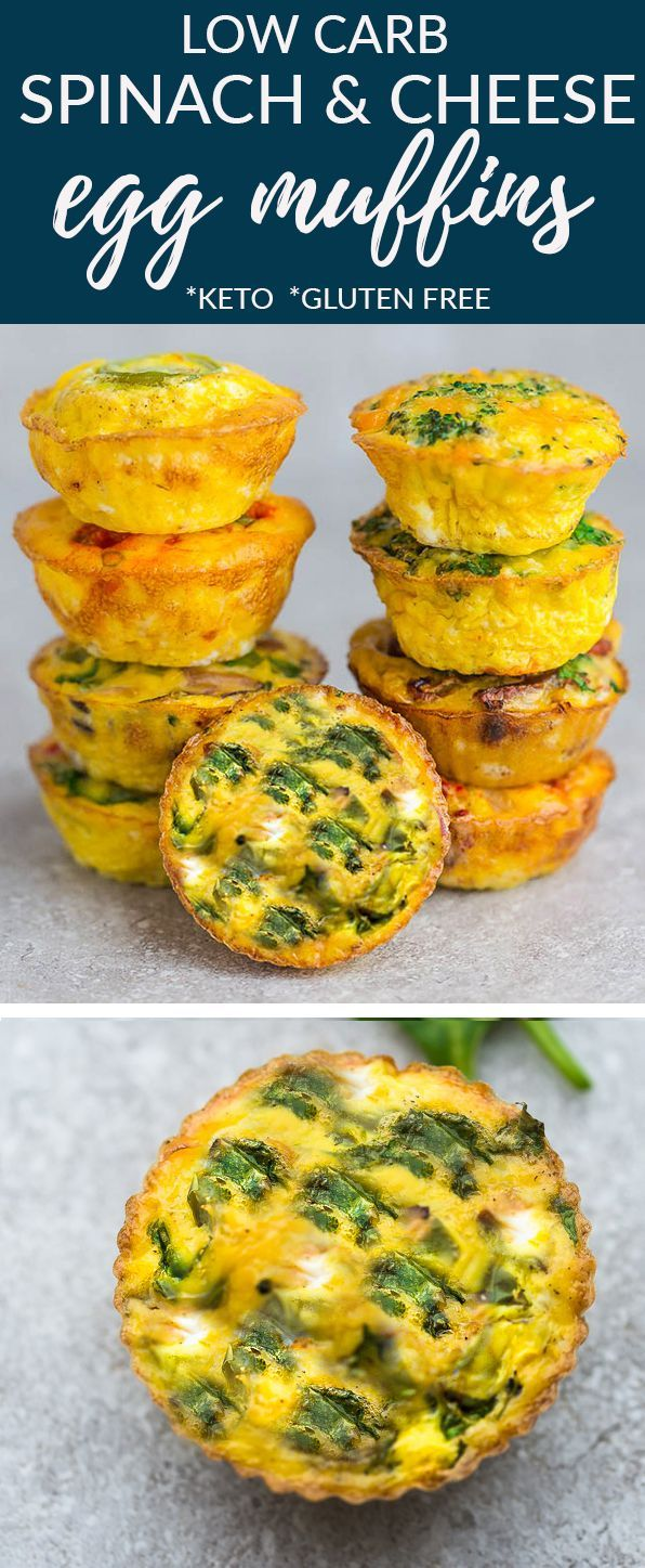 Spinat-Käse-Ei-Muffins sind schnell, einfach und perfekt zum Mitnehmen ... - #einfach #Mitnehmen #perfekt #schnell #sind #SpinatKäseEiMuffins #und #zum #eggmuffins