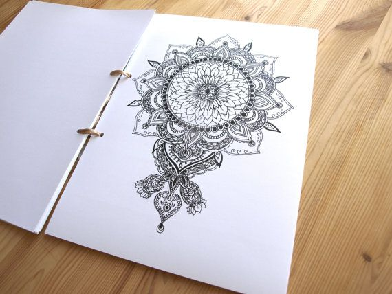 Coloring Book With 31 Framable Prints