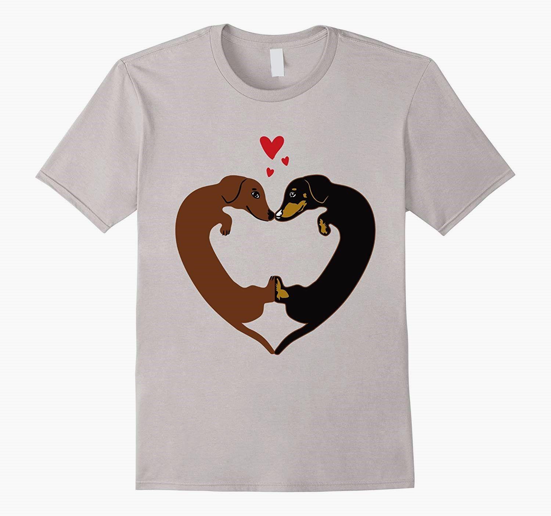 Pin By Richard F Skinner On Dachshund Heart Shirt T Shirts For