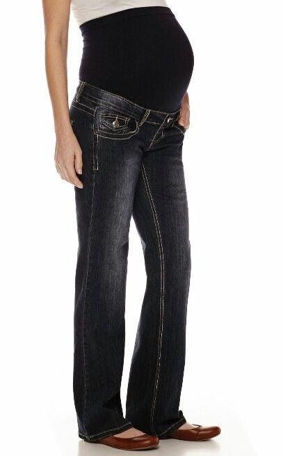 a661cc8b4d JCPenney plus size maternity jeans