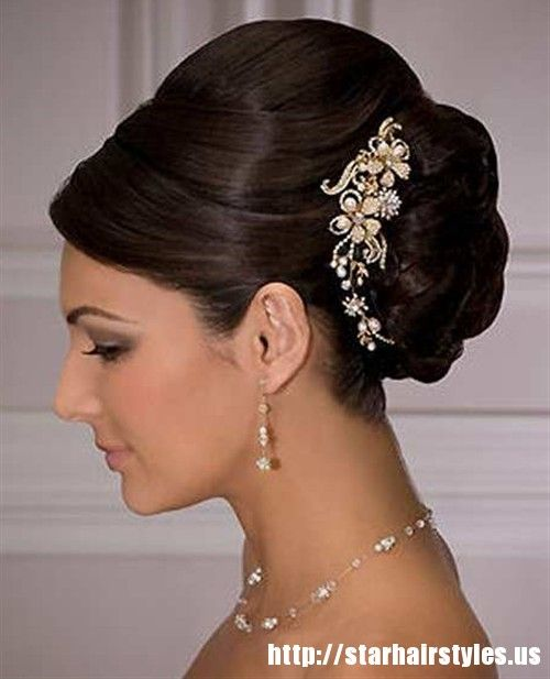 Http Myweddingdecorations Net Wp Content Uploads 2015 01 Wedding Hairstyles Updos With Veil And Tiara Hair Styles Hair Makeover Updos For Medium Length Hair