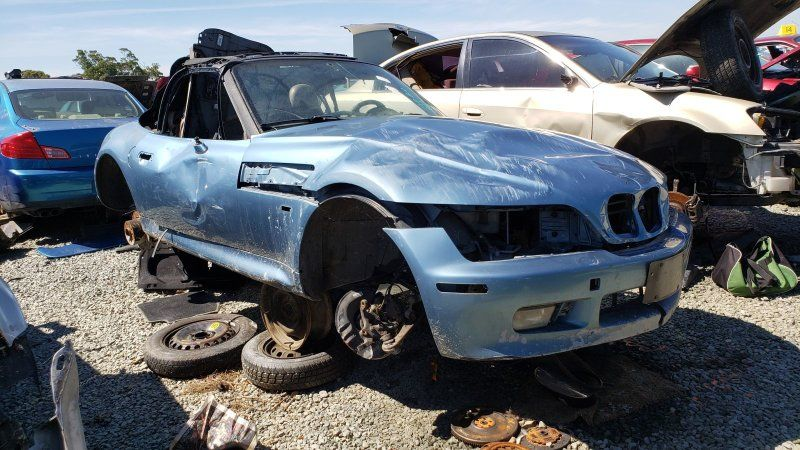 Junkyard Gem 1996 BMW Z3 Roadster Filed under Etc.,BMW