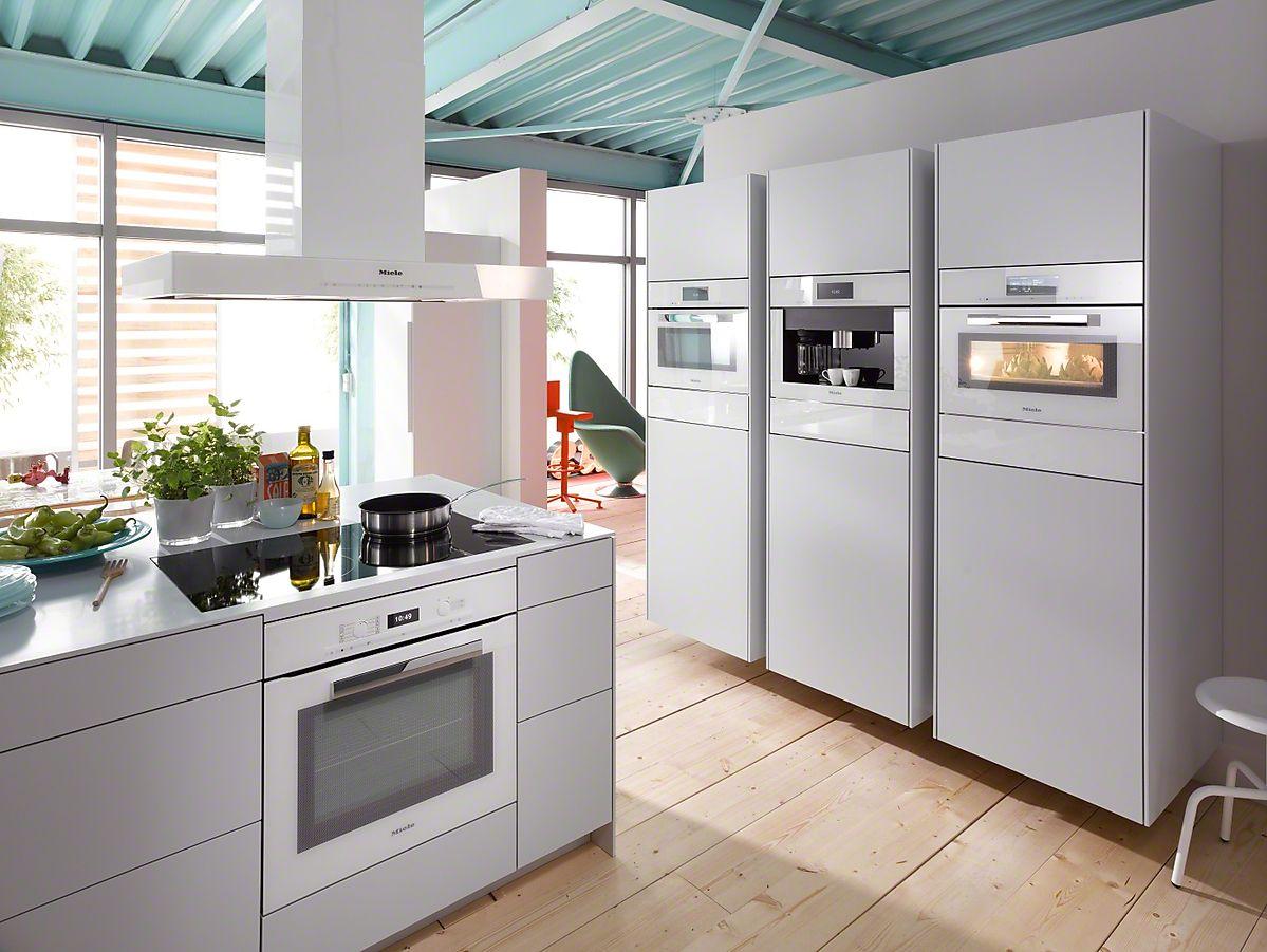 Miele Brilliantweiss | Kitchen | Pinterest | Küche