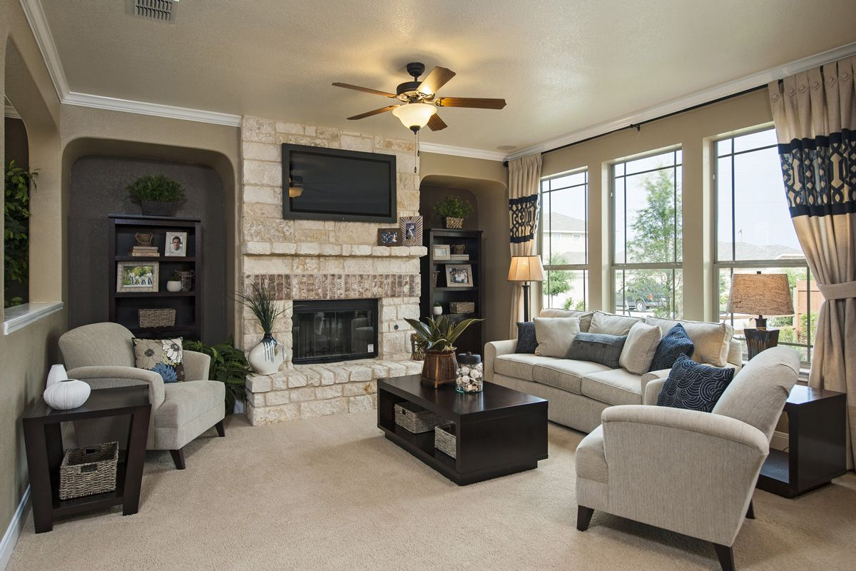 Lakeview A Kb Home Community In San Antonio Tx San Antonio New Braunfels Kb Homes Home Great Room Layout