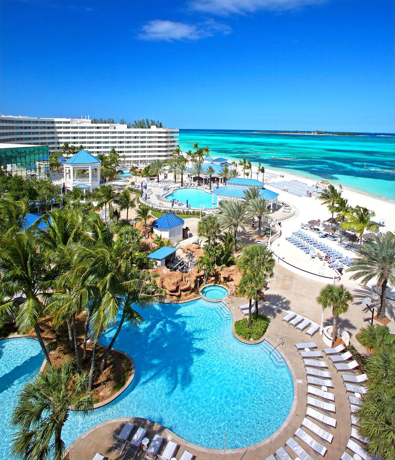The Chambray Bunny  Days In The Bahamas Melia Nassau Beach Resort Review  C B Best All Inclusive