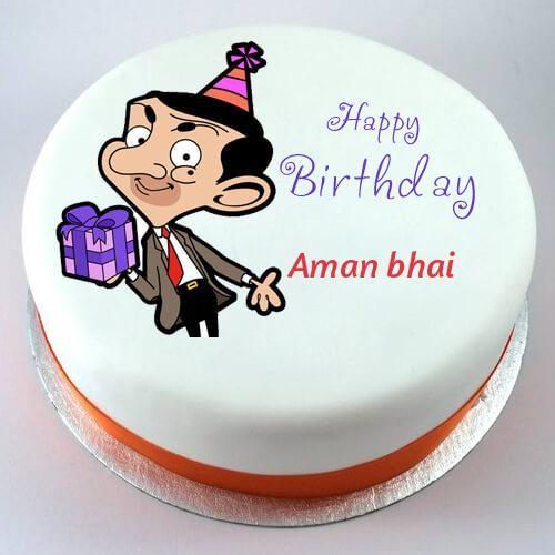 Aman Bhai Jpeg 500 500 Pixels Happy Birthday Cakes Cartoon Cake Mr Bean Birthday See more ideas about man birthday, birthday cakes for men, birthday cake. happy birthday cakes