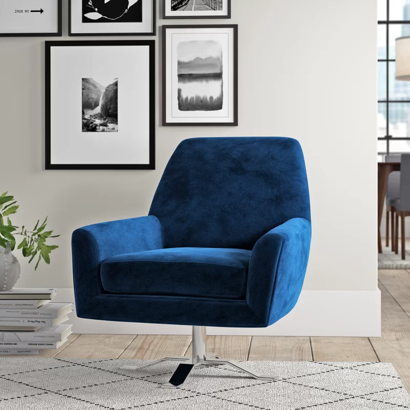 Reviews Are Good For Most Part But People Agree It Isnt The Most Comfortable And Base Can Seem Unstable Edmund Swivel 2 Swivel Armchair Armchair Accent Chairs