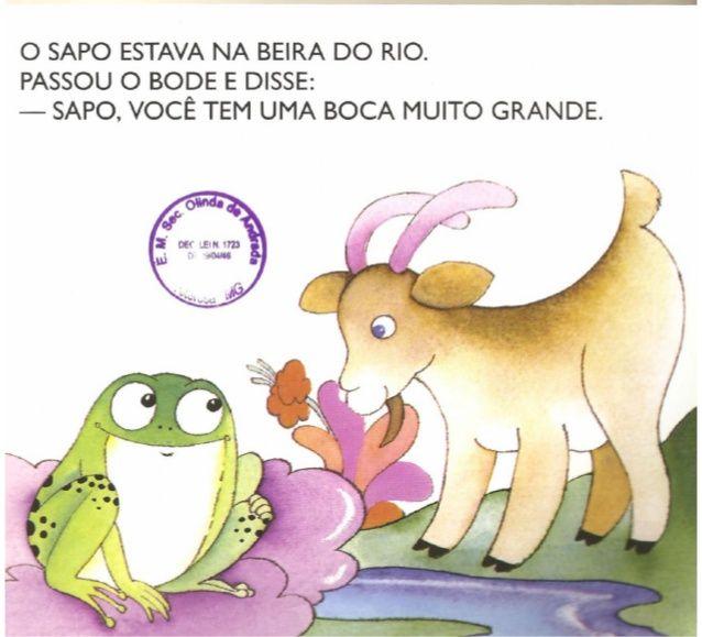 A Boca Do Sapo De Mary Franca E Eliardo Franca Livros De