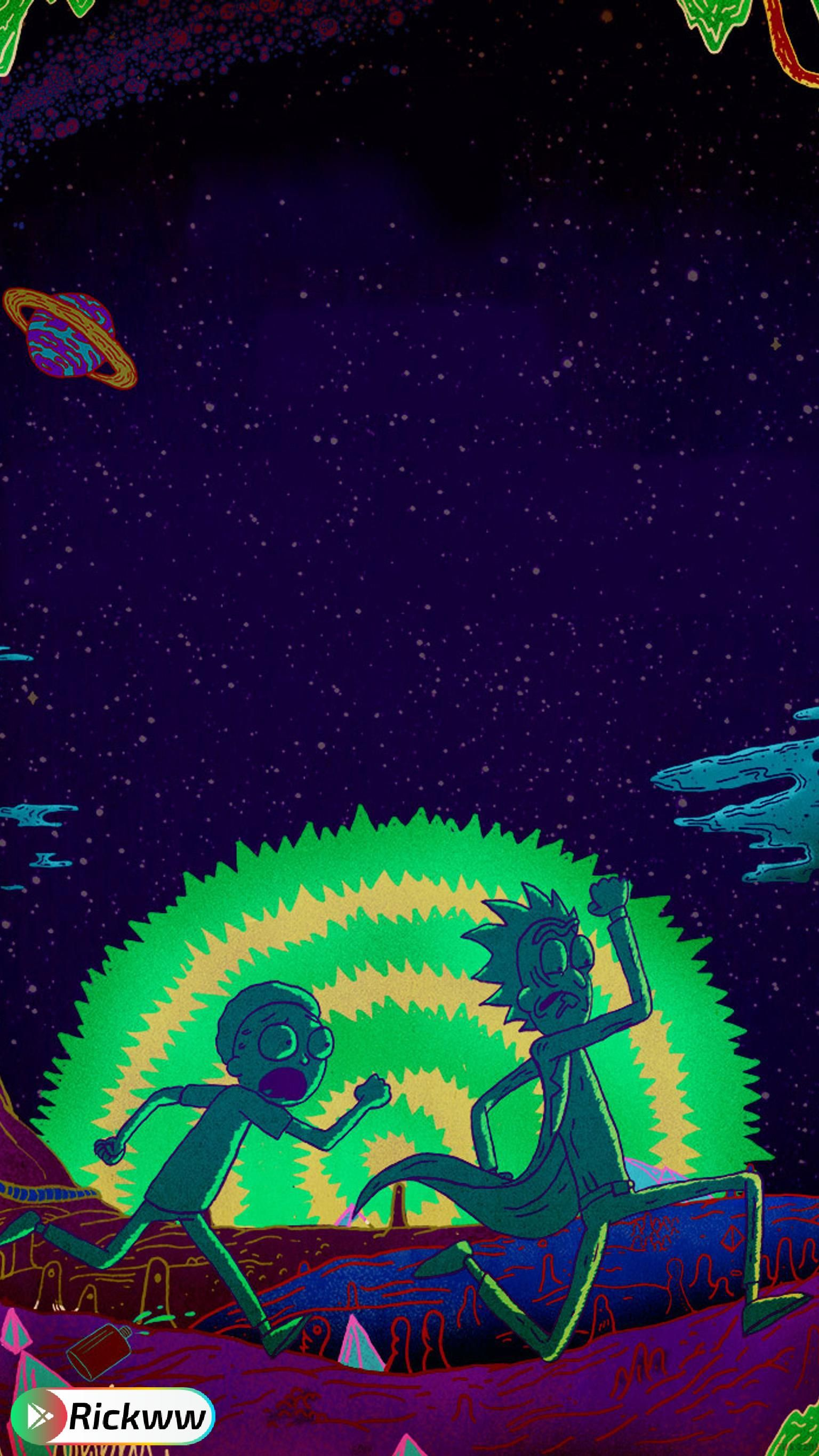 Rick Morty Wallpaper Rick And Morty Poster Cartoon Wallpaper Phone Wallpaper