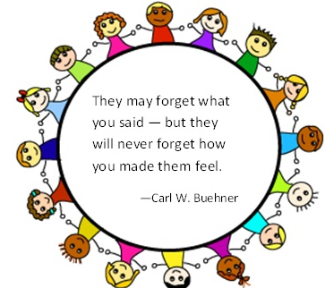 Image result for They may forget what you said—but they will never forget how you made them feel. Carl W. Buehner