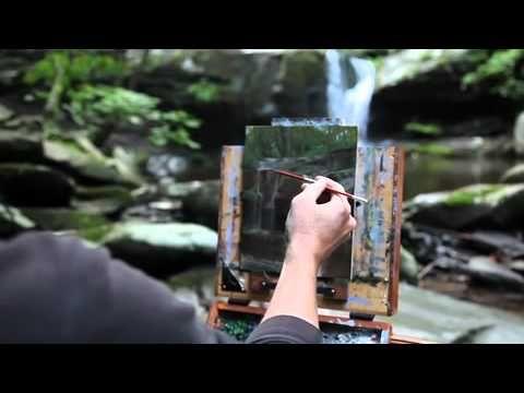 Jacob Collins Painting Landscape, APVM Cache - YouTube