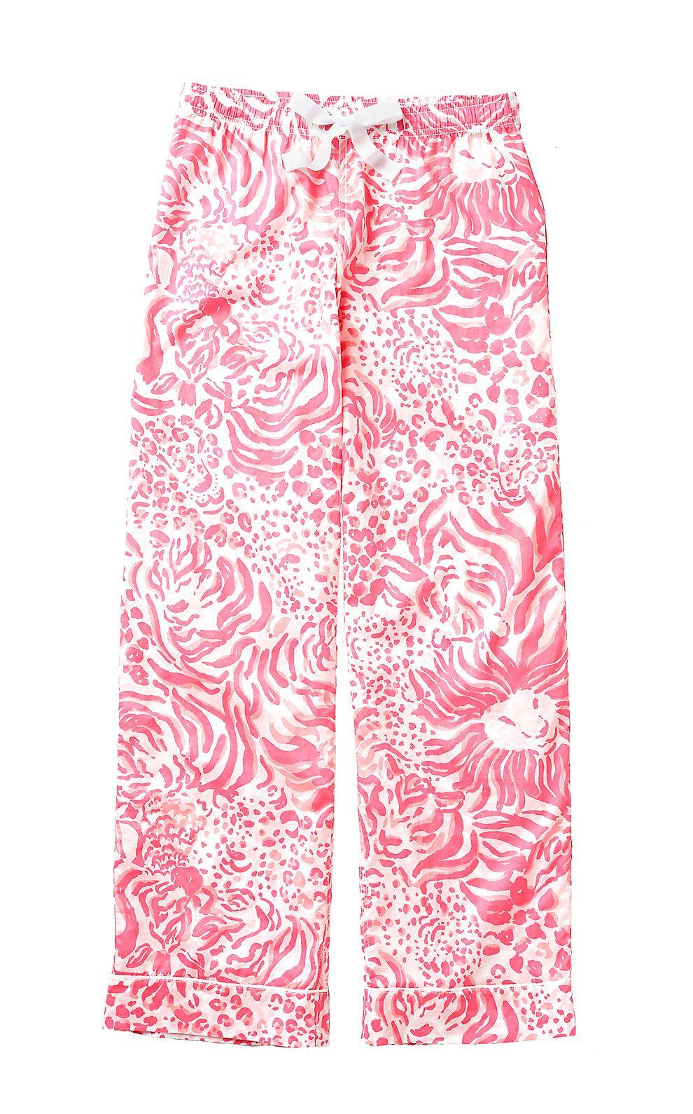 Lilly Pulitzer Womens Printed Pajama Pant
