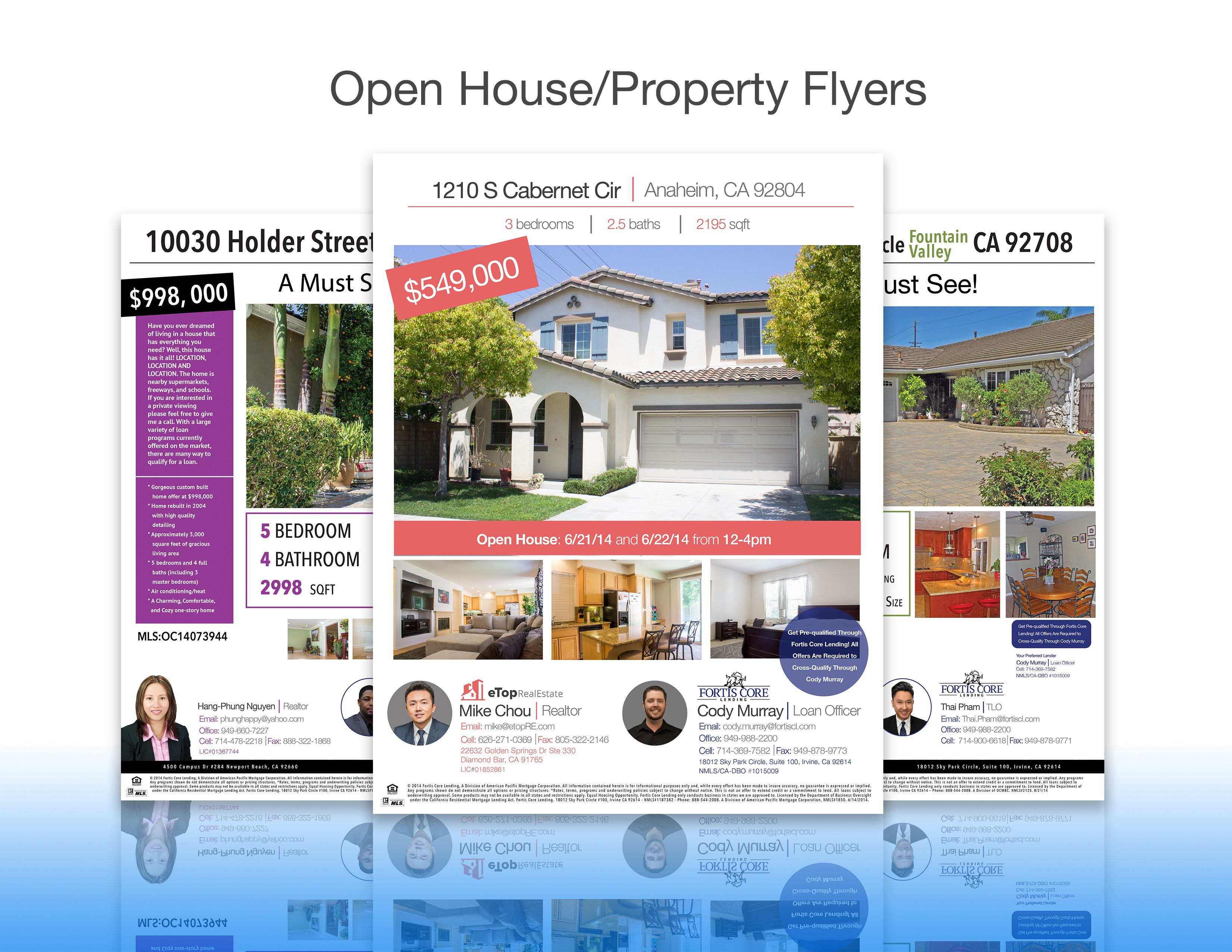 need to advertise an open house check out these sampled co check out these sampled co branded property flyers
