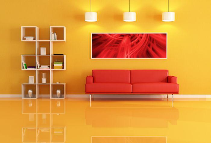 1001 Conseils Et Idees Quelle Couleur Va Avec Le Rouge Deco