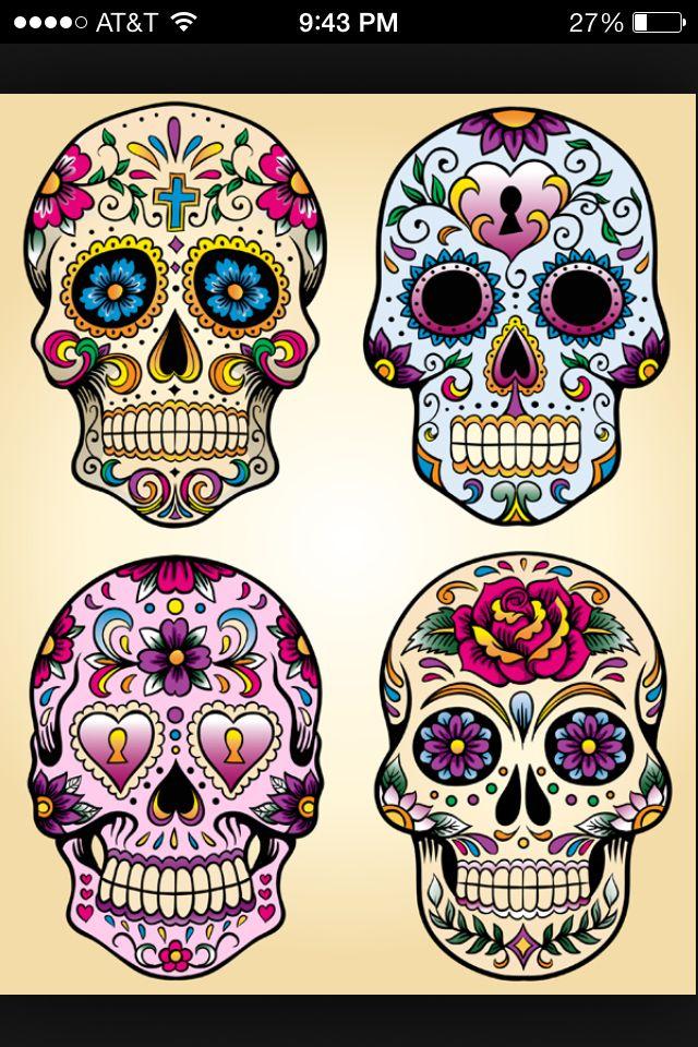 Skulls Tattoo Pinterest Totenkopf Tattoos Totenkopf Tattoo