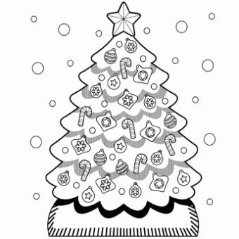 Christmas Tree Coloring Page Printable Christmas Coloring Pages Christmas Coloring Pages Christmas Tree Coloring Page