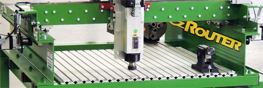 4 Axis Cnc Router Hobbycnc