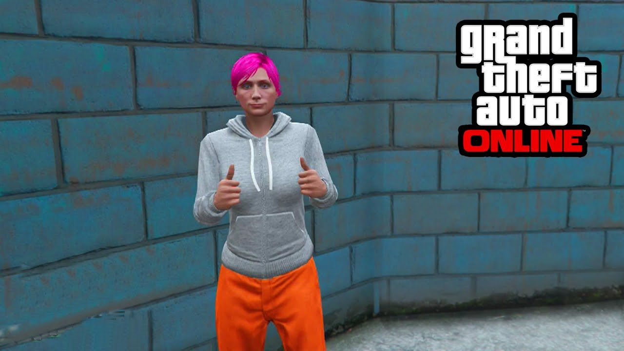 GTA 5 Online - Pink/Yellow Epic Hair & Eyebrow Colors