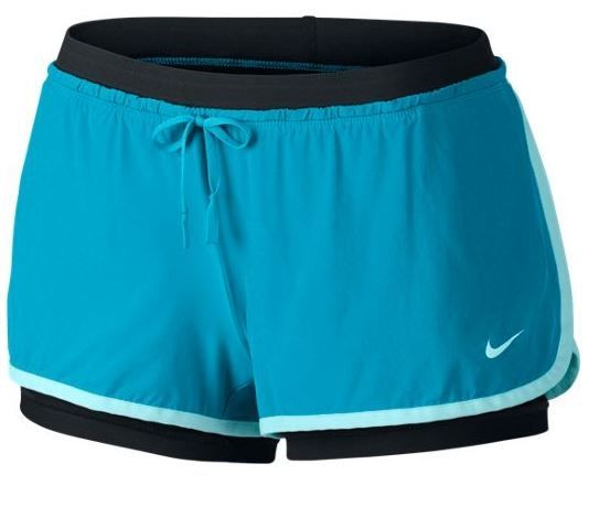 Nike Full Flex 2 In 1 Short 642669 408 Teal | Nike