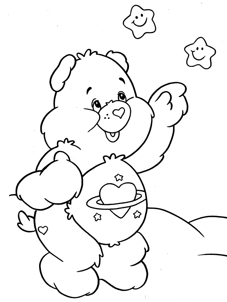 kids coloring pages on caring - photo#9